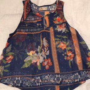Hollister tank top size S